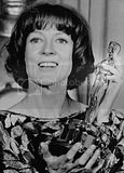 Maggie with her Oscar for California Suite